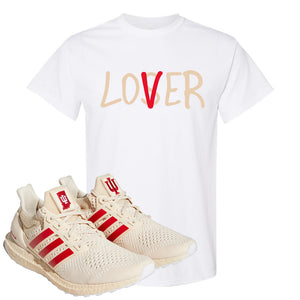 Adidas Ultra Boost 1.0 Indiana T-Shirt | Lover, White