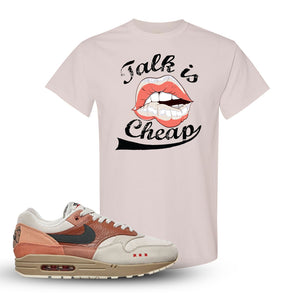 Air Max 1 Amsterdam City Pack Sneaker Natural T Shirt | Tees to match Nike Air Max 1 Amsterdam City Pack Shoes | Talk Is Cheap