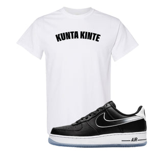 Colin Kaepernick X Air Force 1 Low Kunta Kinte White Sneaker Hook Up T-Shirt