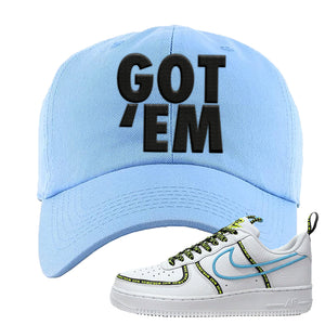 Air Force 1 '07 PRM 'Worldwide Pack' Dad Hat | Light Blue, Got Em