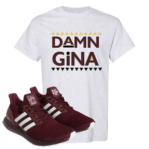 Ultra Boost 1.0 Texas A&M T Shirt | Damn Gina, Ash