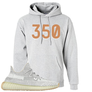 Yeezy 350 V2 Yeshaya 350 Ash Made to Match Pullover Hoodie