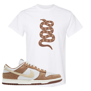 Dunk Low Medium Curry T Shirt | Coiled Snake, White