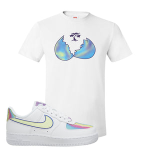 Air Force 1 Low Easter T Shirt | White, Broken Egg