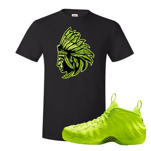 Air Foamposite Pro Volt T Shirt | Indian Chief, Black