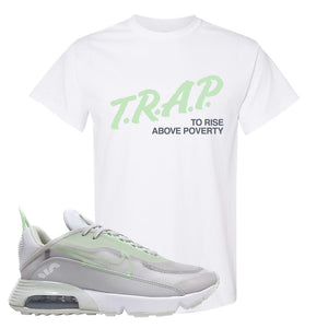 Air Max 2090 'Vast Gray' T Shirt | White, Trap To Rise Above Poverty