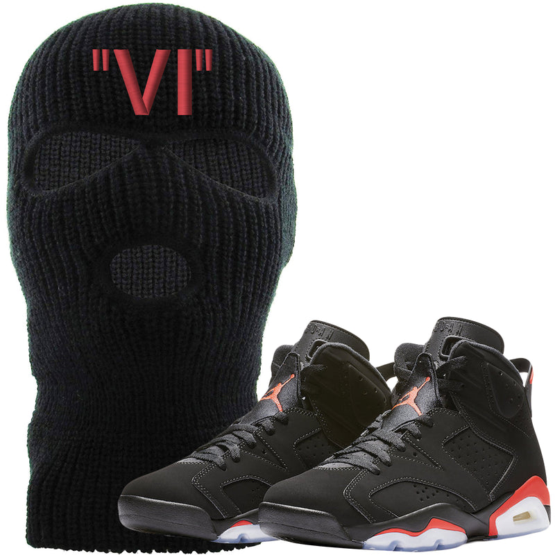 e17258d1 The Jordan 6 Infrared Ski Mask is custom designed to perfectly match the retro  Jordan 6