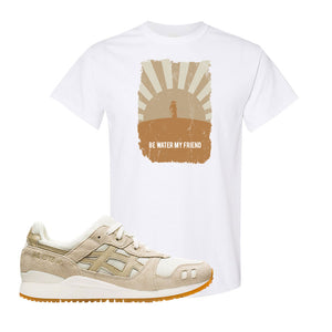 GEL-Lyte III 'Monozukuri Pack' T Shirt | White, Be Water My Friend Samurai