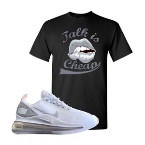 Air Max 720 Utility White T Shirt | Black, Talk is Cheap