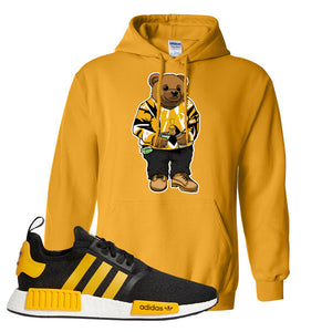 NMD R1 Active Gold Hoodie | Gold, Sweater Bear