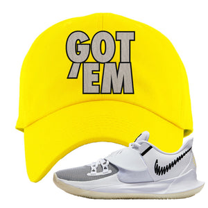 Kyrie Low 3 Dad Hat | Yellow, Got Em