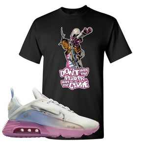 Air Max 2090 Airplane Travel T Shirt | Don't Hate The Playa, Black