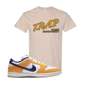 SB Dunk Low Laser Orange T Shirt | Sand, Trap To Rise Above Poverty