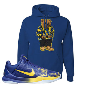 Kobe 5 Protro 5 Rings Hoodie | Sweater Bear, Royal Blue