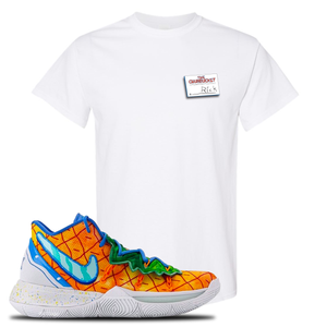 Kyrie 5 Pineapple House T-Shirt | White, Rick