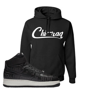 Air Force 1 High Hotline Hoodie | Chiraq, Black