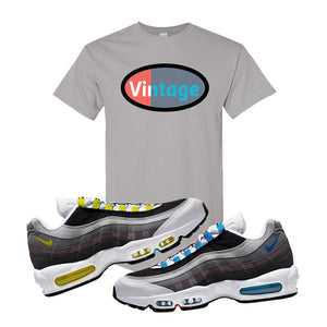 Air Max 95 QS Greedy T Shirt | Gravel, Vintage Oval