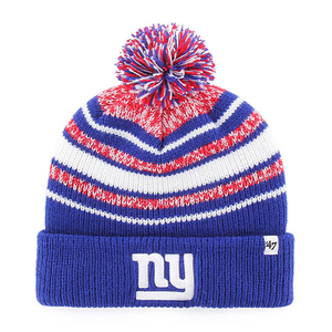 New York Giants Bubbler Cuff Youth-Sized Winter Knit Pom Beanie