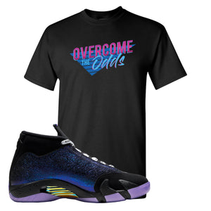 Jordan 14 Doernbecher Overcome The Odds Black Sneaker Hook Up T-Shirt