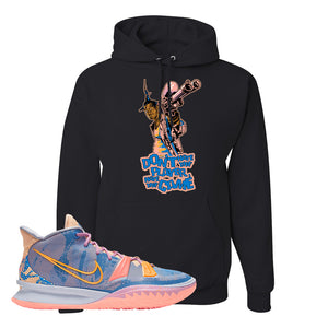 Kyrie 7 Expressions Hoodie | Dont Hate The Playa, Black