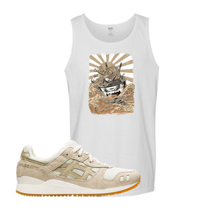 GEL-Lyte III 'Monozukuri Pack' Tank Top | White, Ramen Monster