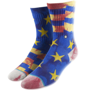 Stance Classic Crew Kid's Star Filled Blue High Socks