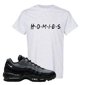 Air Max 95 Black Smoke Grey T Shirt | Homies, Ash