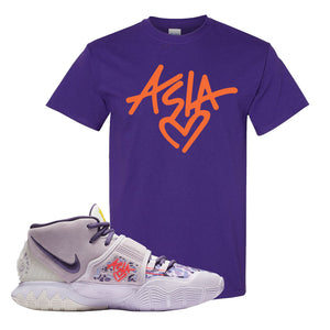 Kyrie 6 Asia Irving T Shirt | Asia, Purple