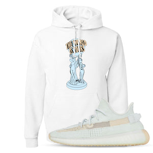 Yeezy Boost 350 Hyperspace Sneaker Hook Up The World Is Yours White Hoodie