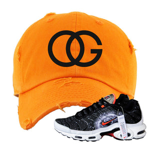 Air Max Plus Supernova 2020 Distressed Dad Hat | Orange, OG