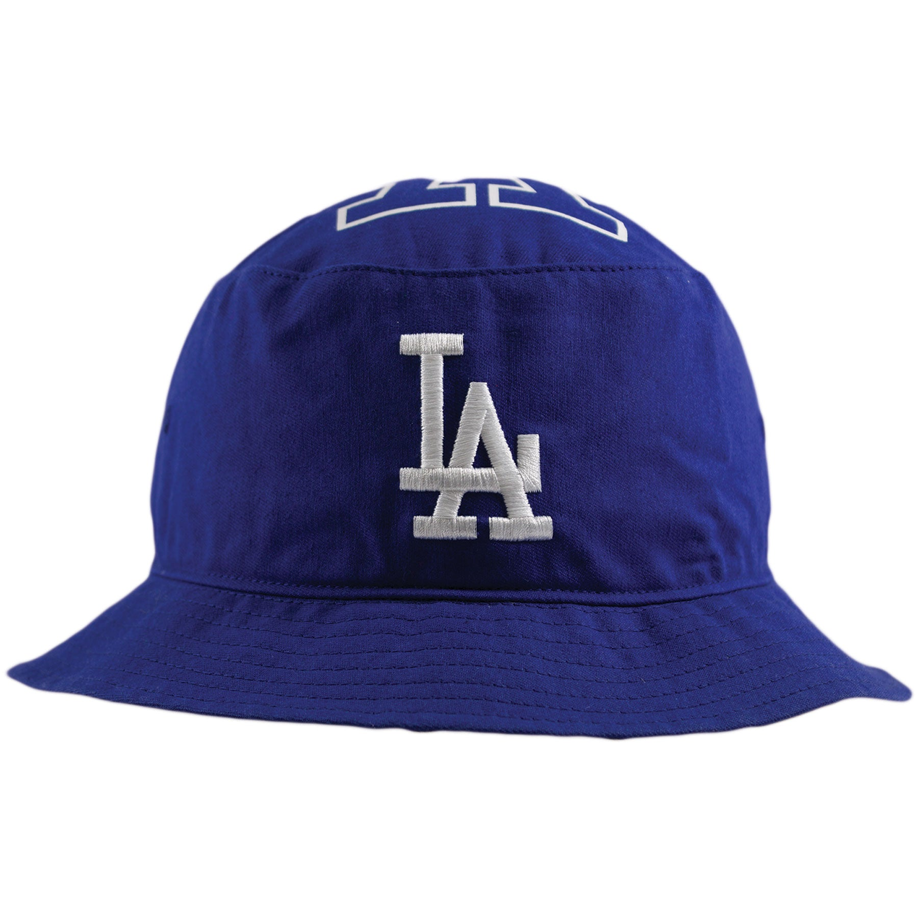 25b95ec0 Los Angeles Dodgers Royal Blue Stapleton Bucket Hat