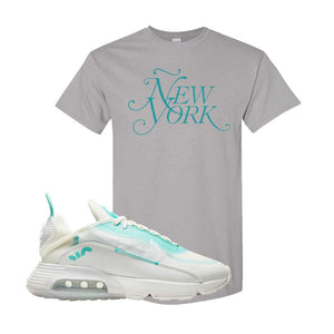 Air Max 2090 Pristine Green T Shirt | Gravel, New York