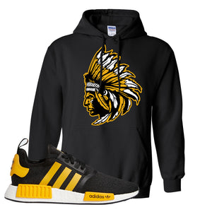 NMD R1 Active Gold Hoodie | Black, Indian Chief