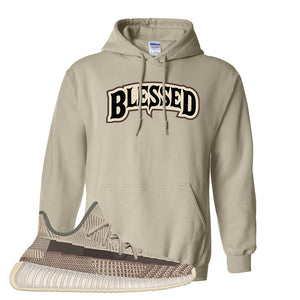 Yeezy 350 v2 Zyon Hoodie | Sand, Blessed Arch