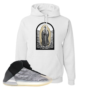 Yeezy Quantum Hoodie | White, Virgin Mary
