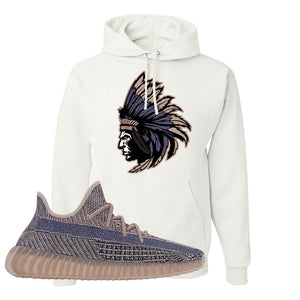 Yeezy Boost 350 V2 Fade Pullover Hoodie | Indian Chief, White