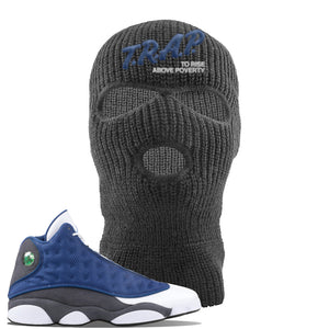 Jordan 13 Flint 2020 Sneaker Dark Gray Ski Mask | Winter Mask to match Nike Air Jordan 13 Flint 2020 Shoes | Trap To Rise