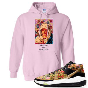 KD 13 Hype Hoodie | Light Pink, God Told Me