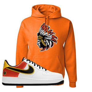 Air Force 1 Low Roswell Rayguns Hoodie | Indian Chief, Orange
