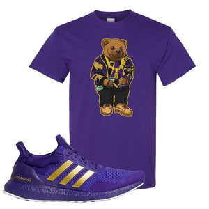 Ultra Boost 1.0 Washington T Shirt | Sweater Bear, Purple