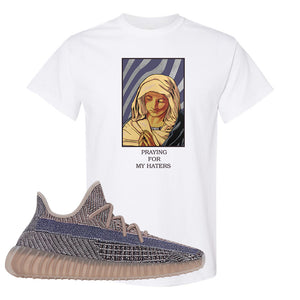 Yeezy Boost 350 V2 Fade T-Shirt | God Told Me, White