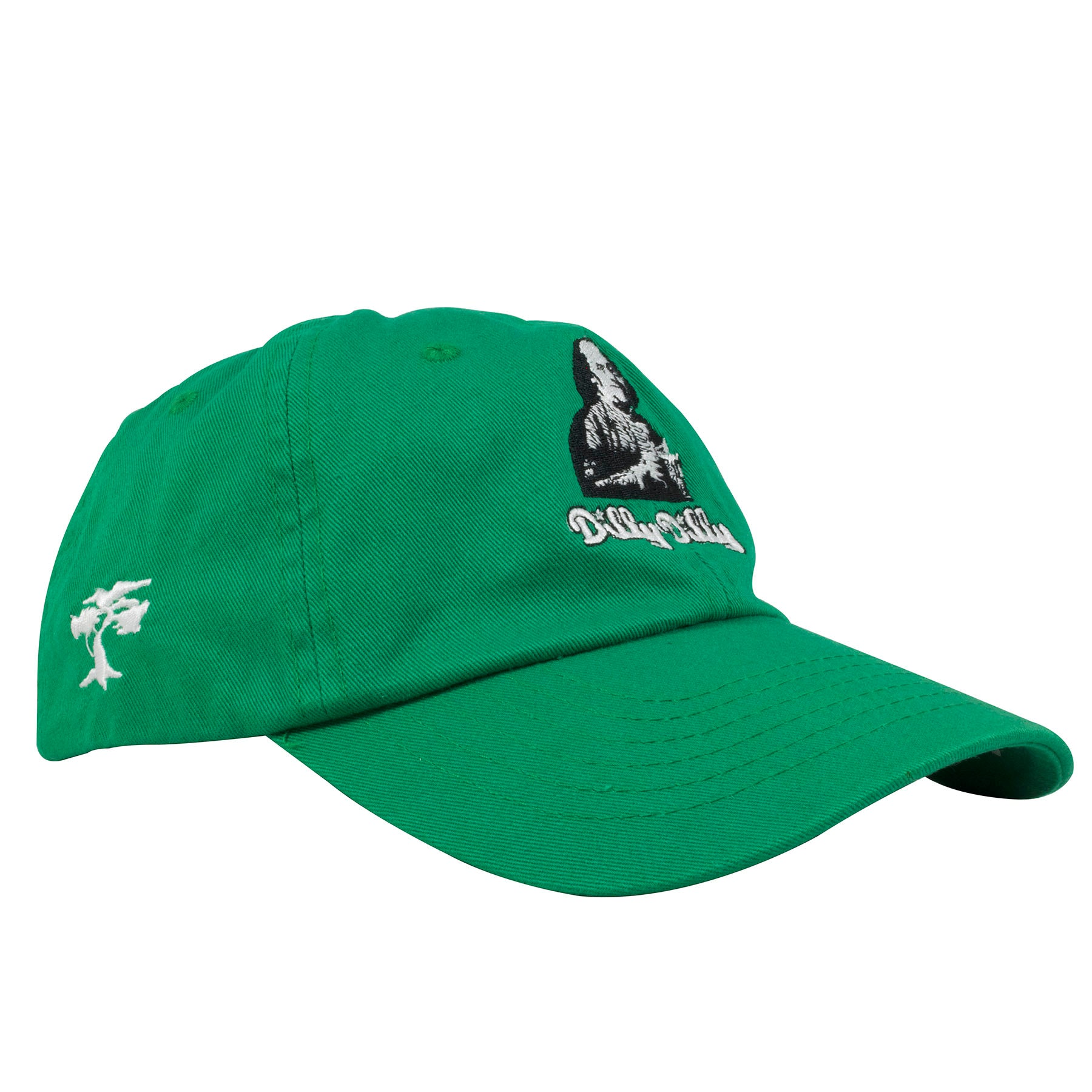 3b38b302e1b Embroidered on the front of the Benjamin Franklin Dilly Dilly kelly green  adjustable dad hat is · on the right side of the Benjamin Franklin Dilly  Dilly dad ...