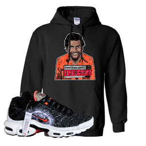 Air Max Plus Supernova 2020 Hoodie | Black, Escobar Illustration