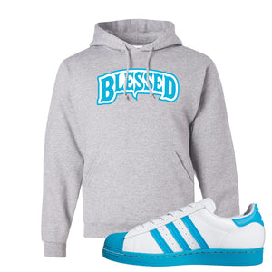 Adidas Superstar 'Aqua Toe' Hoodie | Ash, Blessed Arch