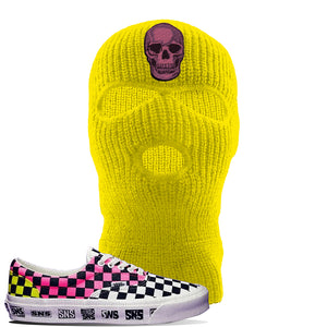 Vans Era Venice Beach Pack Ski Mask | Yellow, Skull