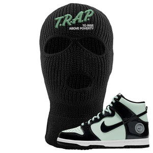 Dunk High All Star 2021 Ski Mask | Trap To Rise Above Poverty, Black