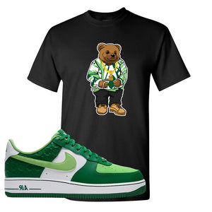 Air Force 1 Low St. Patrick's Day 2021 T Shirt | Sweater Bear, Black