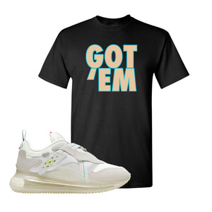 Air Max 720 OBJ Slip White T Shirt | Black, Got Em