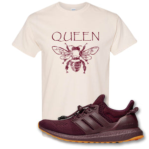 Queen Bee Natural T-Shirt to match Ivy Park X Adidas Ultra Boost Sneaker