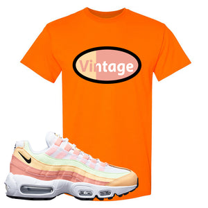 Air Max 95 WMNS Melon Tint T Shirt | Safety Orange, Vintage Oval
